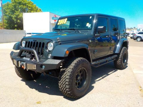 Pre-Owned 2018 Jeep Wrangler JK Unlimited Altitude